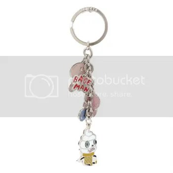 baseman creamy keychain