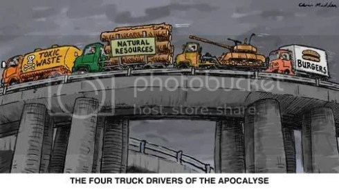 Four Truckers of the Apocalypse