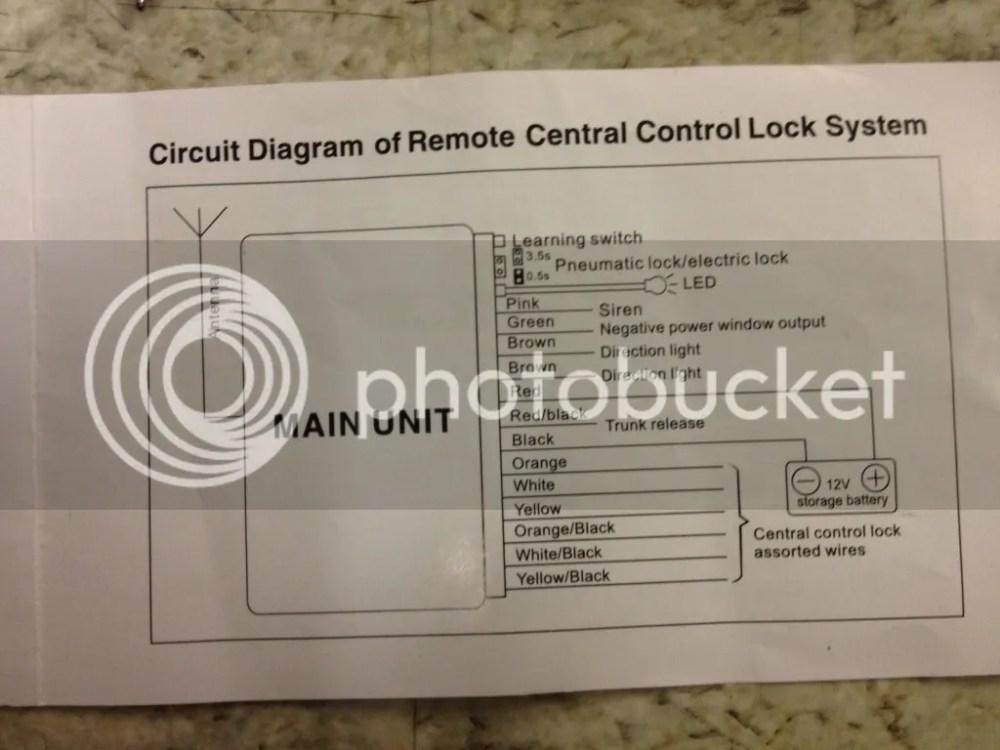 medium resolution of 6n aftermarket central locking
