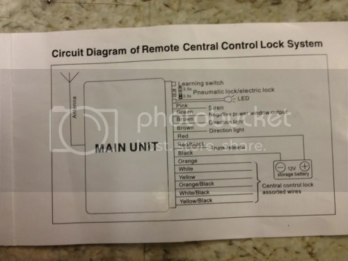 small resolution of 6n aftermarket central locking