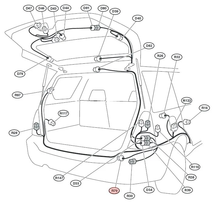 Subaru Tribeca Trailer Wiring Harness