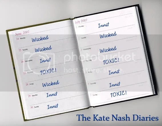 Kate Nash Diaries