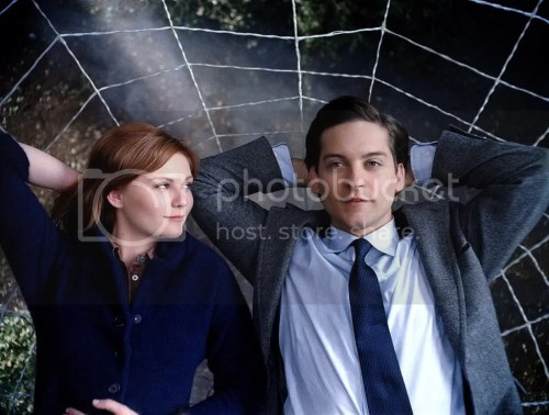 Kirsten and Toby in a Web
