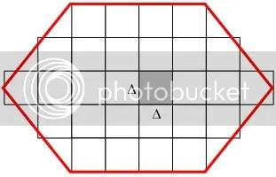 Lưới 2 chiều của OOMMF: trong mỗi ô của lưới, mômen từ được xem là đồng nhất, và phương trình LLG được nghiệm đúng.