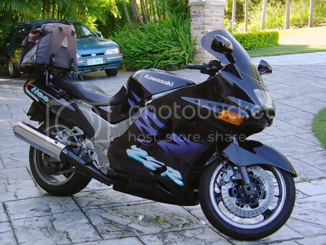 zx11 10 Sepeda Motor Tercepat di Dunia