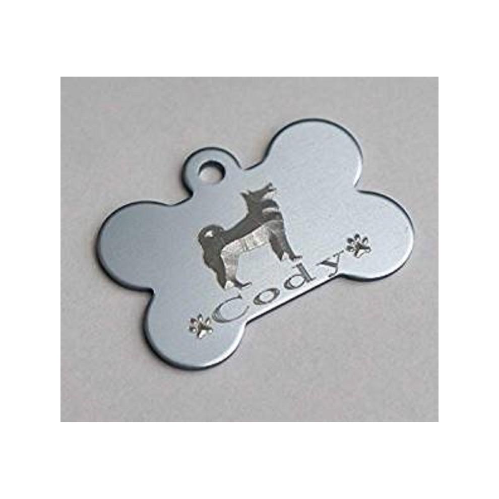 akita 3d engraved dog