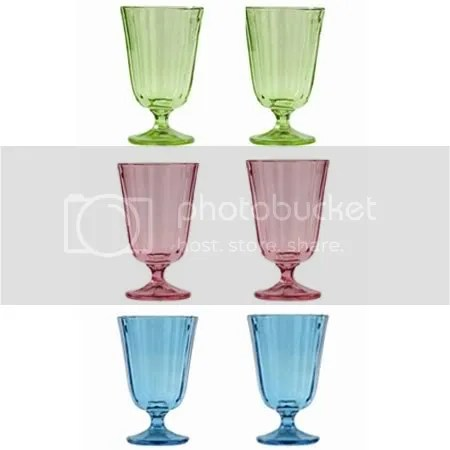 Cath Kidston Small Wineglasses