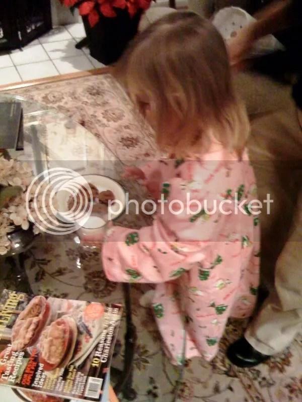 Putting out Santas lactose-free milk