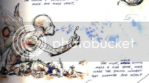 faerie blowing bubbles