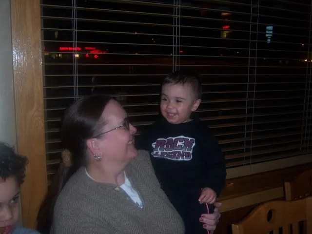 Devin loves his Damma!