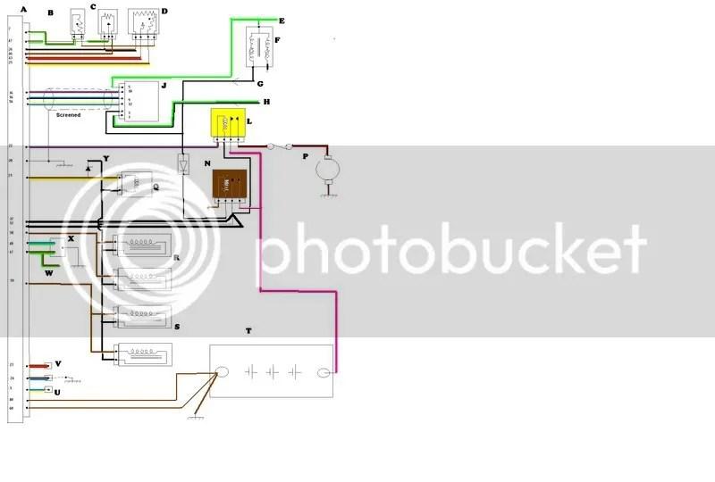 ford capri wiring diagram 7 pin trailer australia www toyskids co pinto efi the laser page mk2 1971