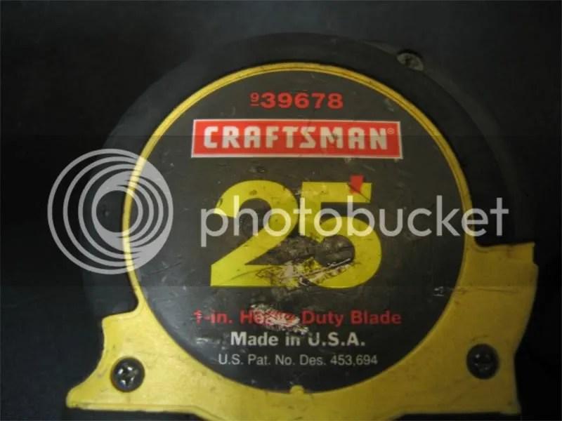 craftsman tape measures warranty