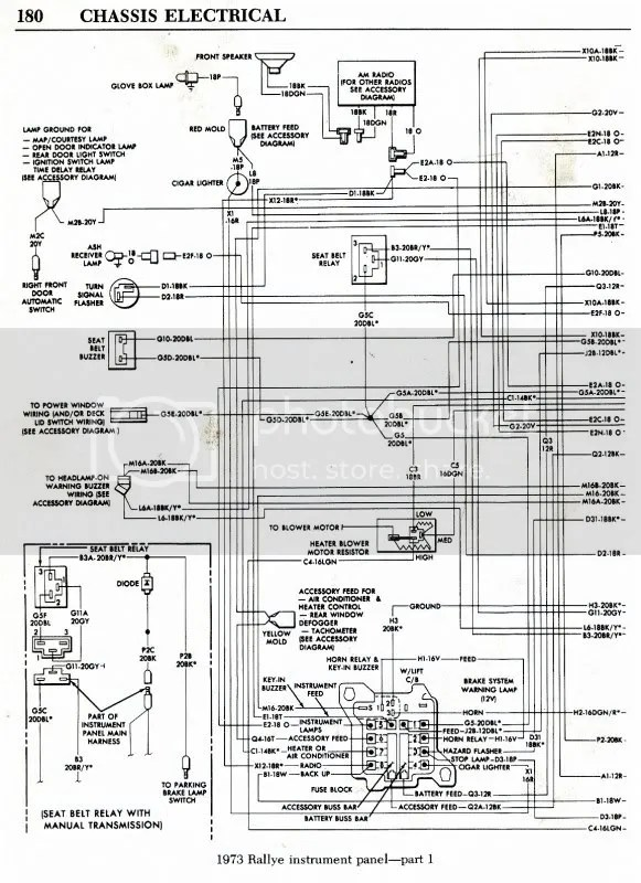 Wiring Diagrams For 73 Duster, Wiring, Get Free Image
