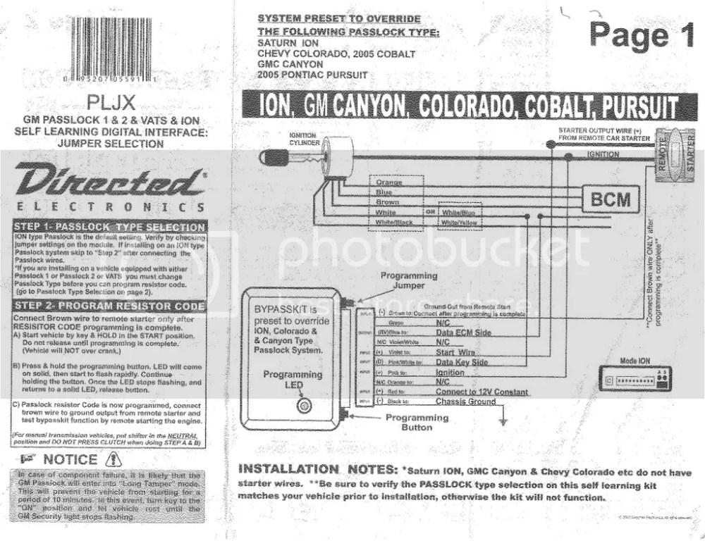 medium resolution of wheres our ignition wire chevrolet colorado u0026 gmc canyon forumthis image