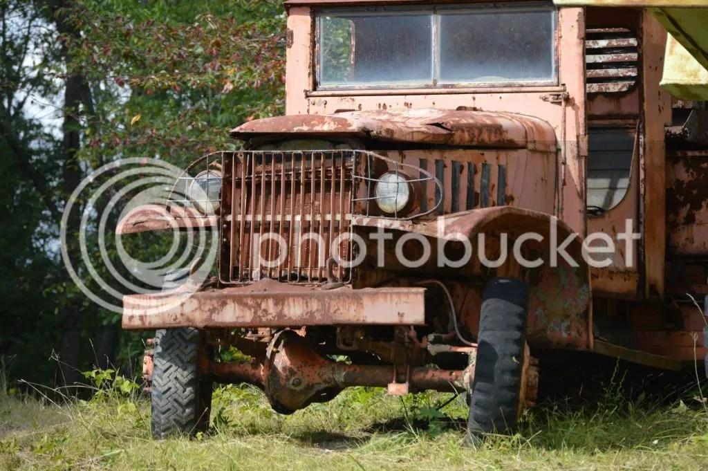 Strip mining truck