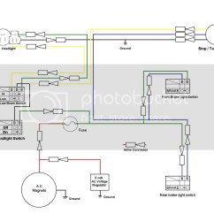 Domestic Lighting Wiring Diagram Can Lights Tt500 For The Street Yamaha Xt500 Forum