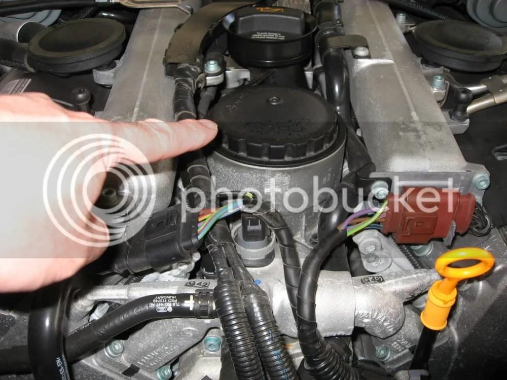 medium resolution of v10 fuel filter location