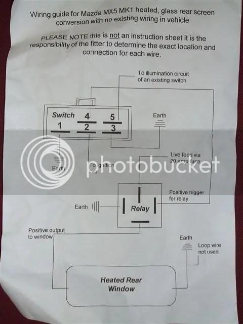 fan switch wiring diagram driving light narva how do i wire in my mk2 hardtop heated rear window? - i... mx5nutz forum
