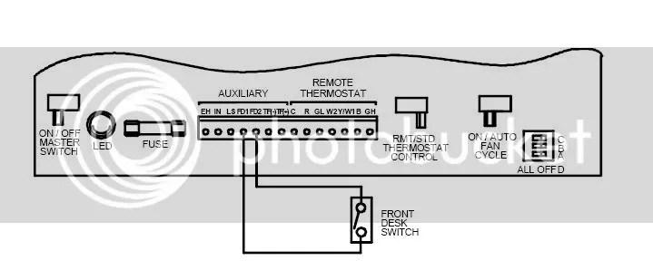 Amana Thermostat Wiring