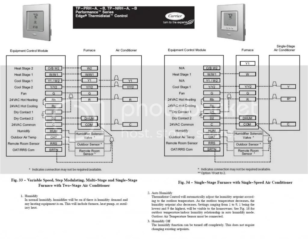 medium resolution of help installing a aprilaire 600 humidifier on carrier infity w edge carrier thermidistat wiring diagram carrier