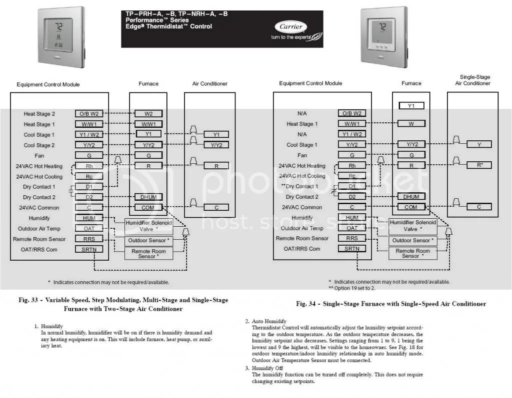 hight resolution of help installing a aprilaire 600 humidifier on carrier infity w edge carrier thermidistat wiring diagram carrier