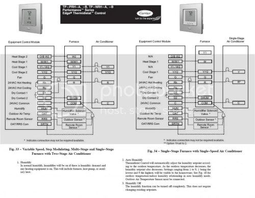 small resolution of help installing a aprilaire 600 humidifier on carrier infity w edge carrier thermidistat wiring diagram carrier