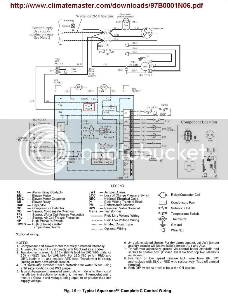 Heat Pump Wiring Diagram Explanation - robertshaw thermostat ... Xl I Trane Fan Motor Wiring Schematic on