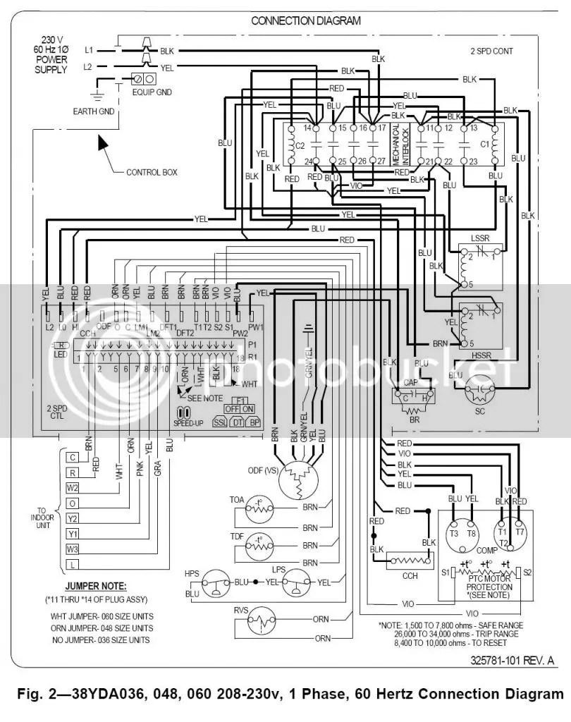 Carrier Model#38yda060300 compressor quits pumping