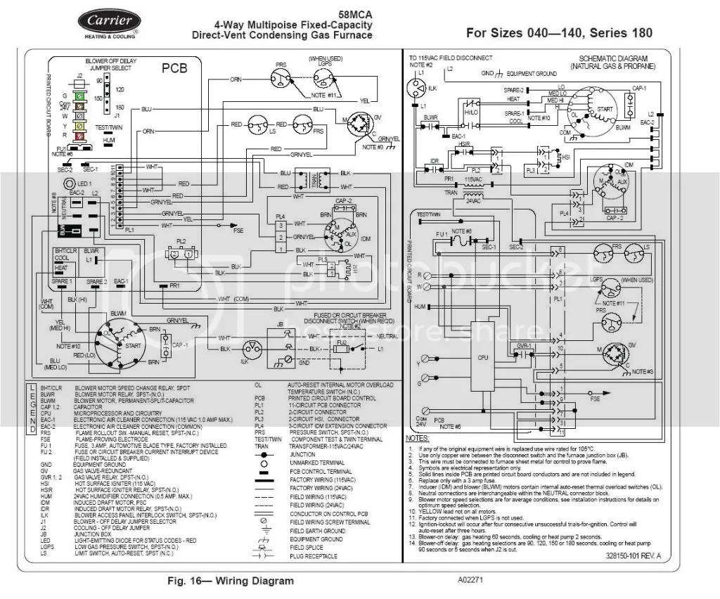 amana furnace blower wiring diagram e locker hvac free engine image for user