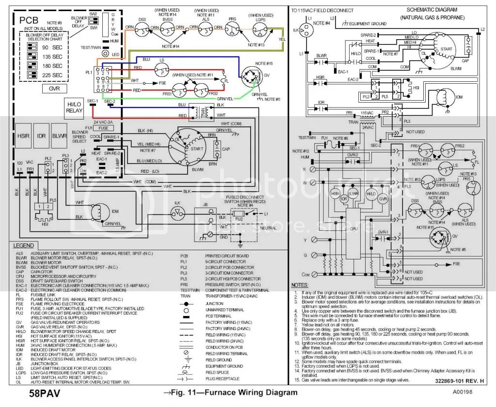 Wiring Diagram Carrier Gas Furnace 58Gs