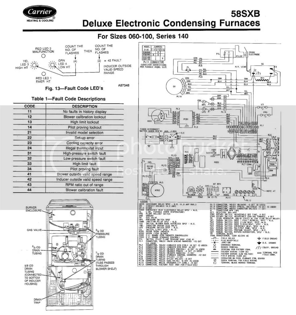 hight resolution of bryant draft inducers pdf carrier weathermaker furnace 58cta manual carrier weathermaker check your roll out switches manual reset flame rollout switches