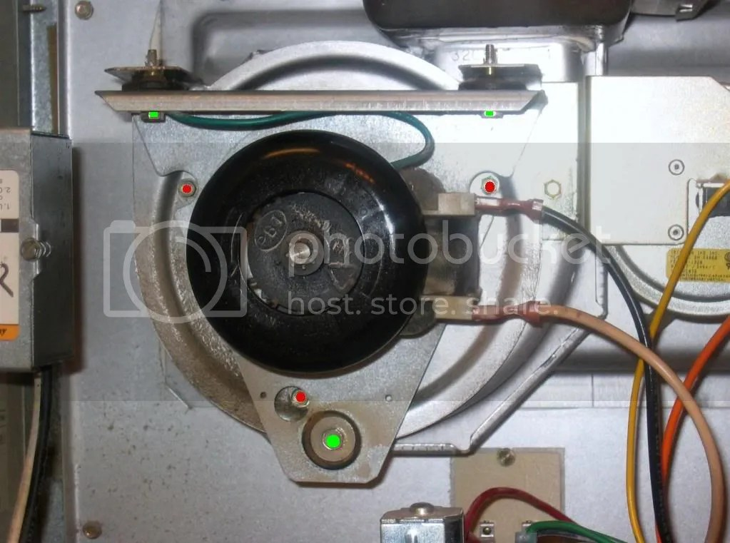 How to remove the inducer motor in my bryant furnace