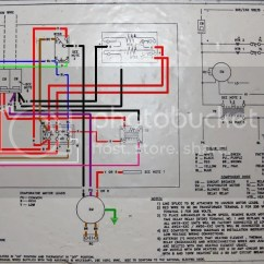 Janitrol Hpt18 60 Thermostat Wiring Diagram Compressor Single Phase Replacing A Goodman Hpt 18 Page 2 Http I151 Photobucket Com Albums S Ahudiagram Jpg