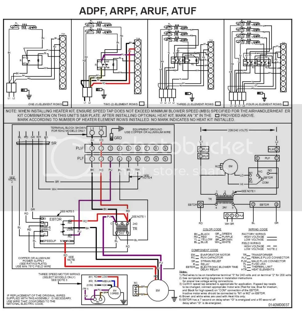 Heat won't turn off on Goodman ARUF-030-00A-1