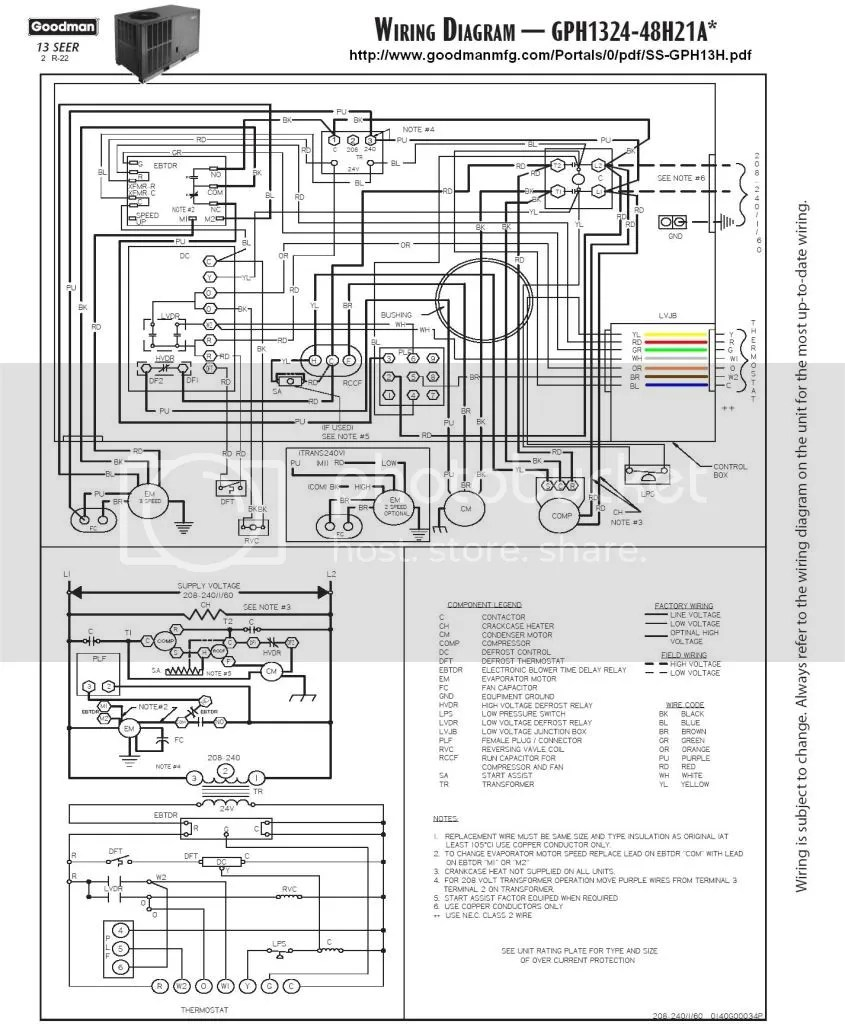 medium resolution of goodman heat pump wiring diagram furthermore heil air handler wiring