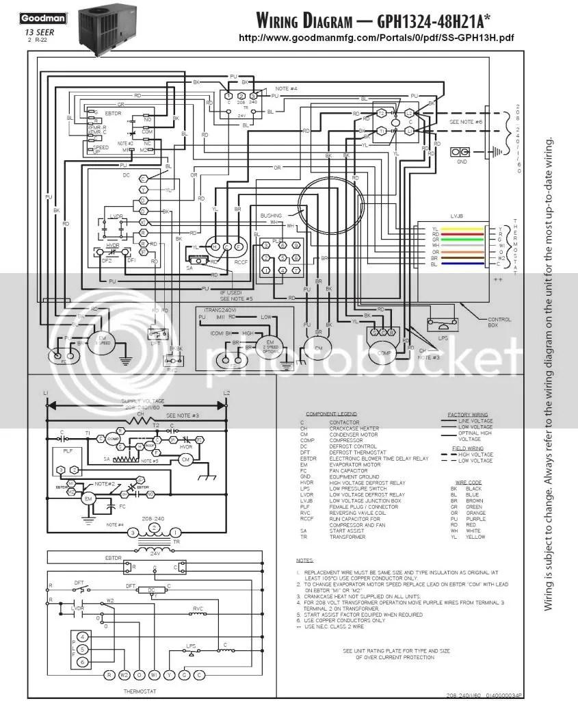 hight resolution of goodman heat pump wiring diagram furthermore heil air handler wiring