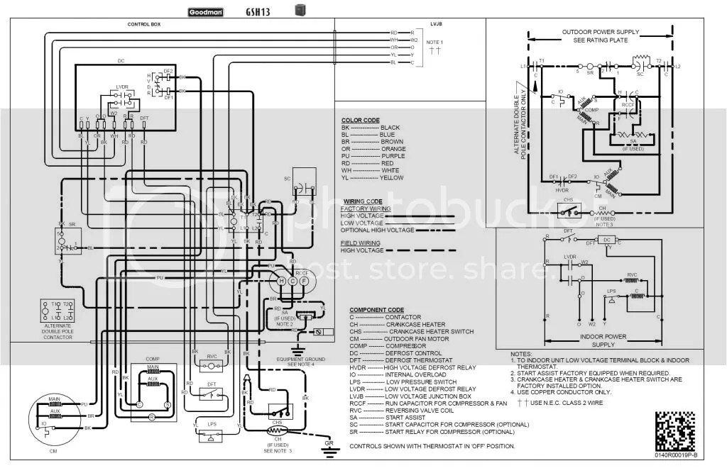 GoodmanGSH13_zpsdad42c36?resize=665%2C433 goodman electric air handler wiring diagram wiring diagram  at bakdesigns.co