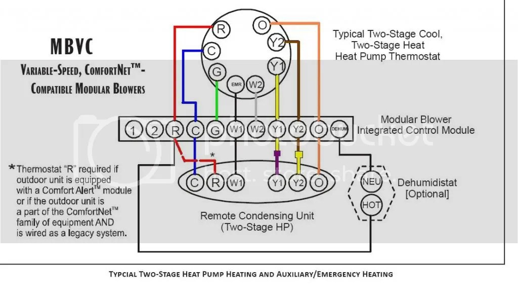 Goodman Heat Pump Thermostat Wiring Diagram