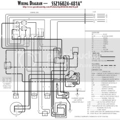 Heat Pump Wiring Diagram Goodman 1995 Ford F150 Ignition Air Handler Get Free Image