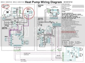 Heat pump pressor Fan wiring  DoItYourself