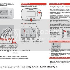 Honeywell Heat Pump Thermostat Wiring Diagram Rth6350 Of The Sun Moon And Earth Trane T8411r To - Doityourself.com Community Forums