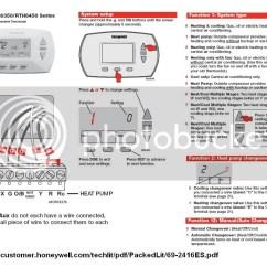Honeywell Thermostat Wiring Diagram Rth6350 Ducar 110cc Quad Trane T8411r To - Doityourself.com Community Forums