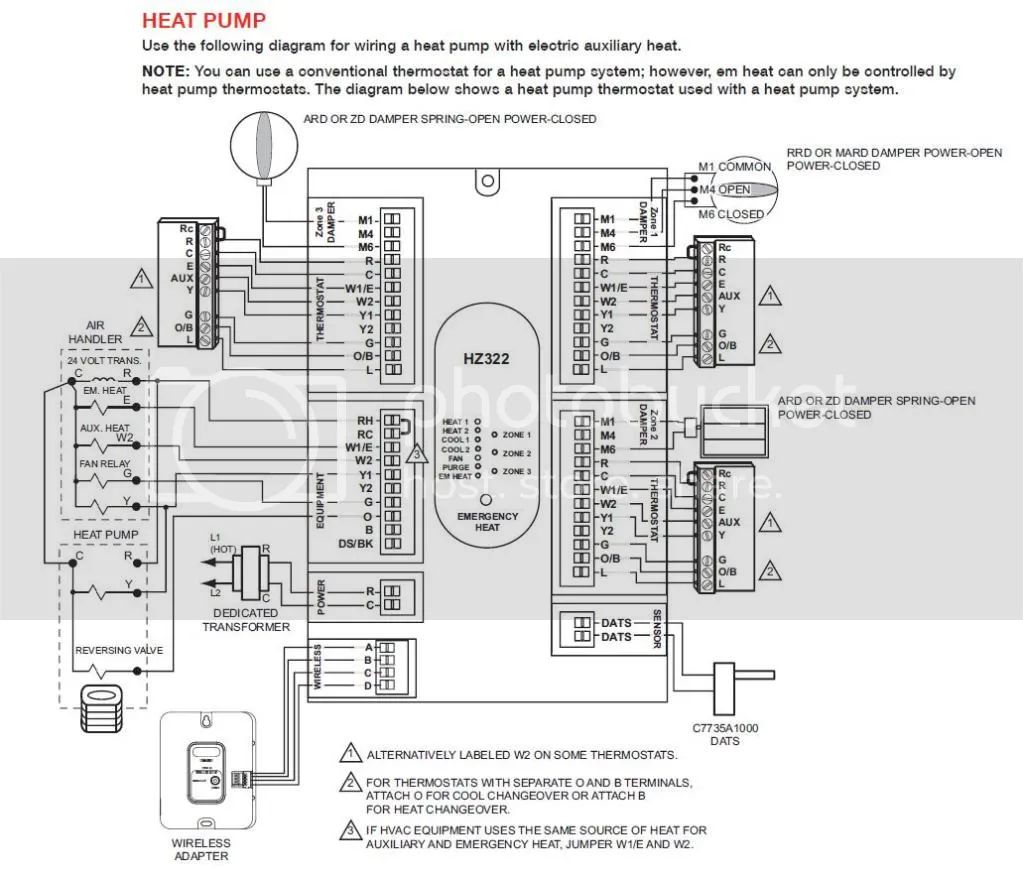 heat pump thermostat wiring heatpump reviews com heat pump