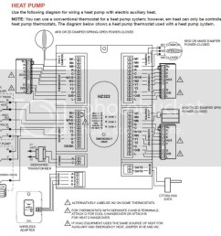 3 ton carrier heat pump thermostat wiring diagram images gallery [ 1023 x 878 Pixel ]