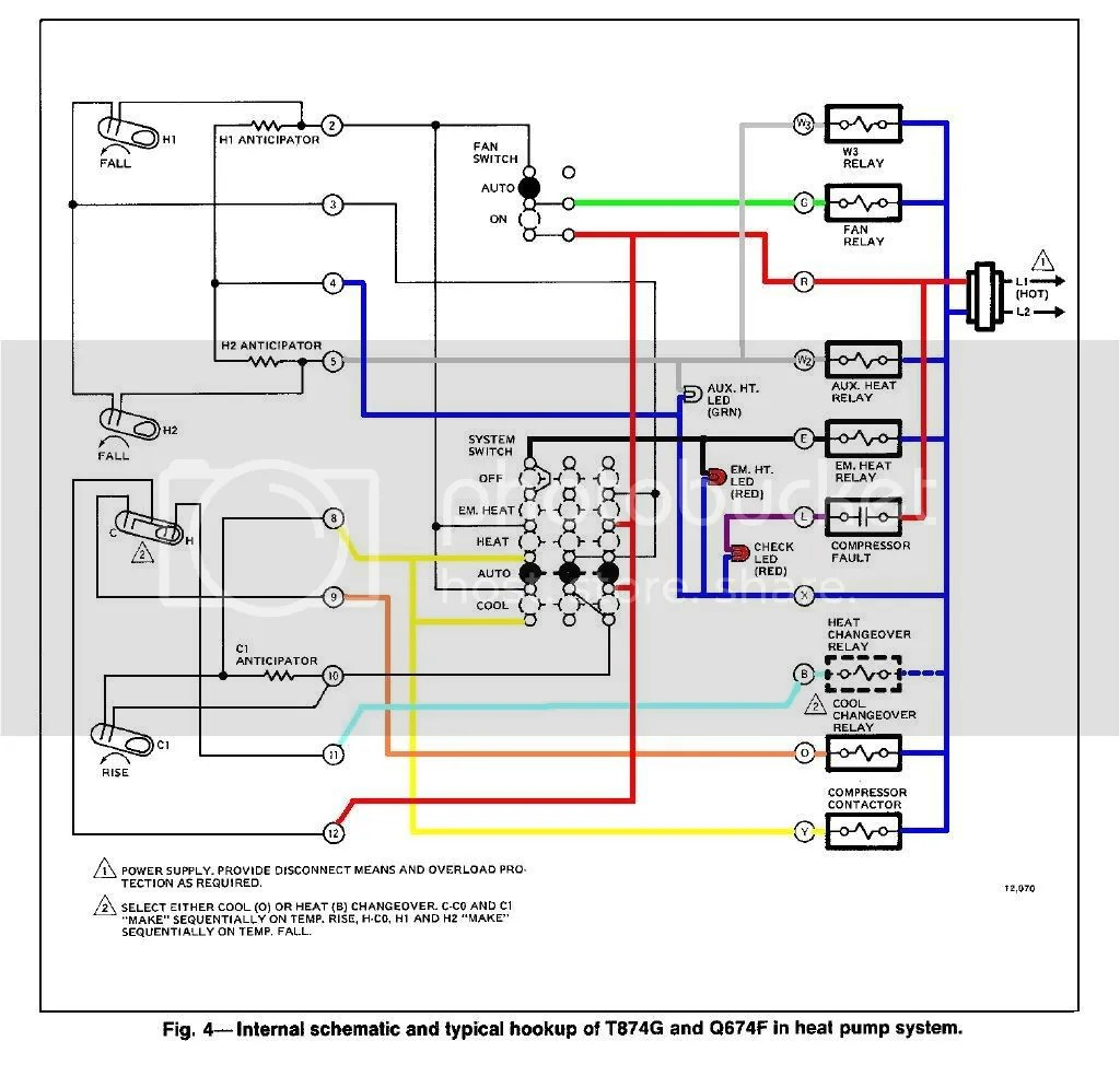ruud thermostat wiring diagram wall lights fantasia fans for heat pump free engine