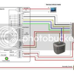 Honeywell Thermostat Wiring Diagram Rth6350 2001 Chevrolet Cavalier Car Stereo Radio Rth2410b