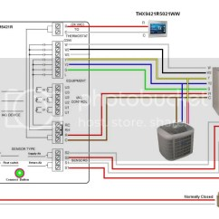 Heat Pump Thermostat Wiring Diagram Honeywell 2000 Ford Focus Exhaust System Pro 8000 6000