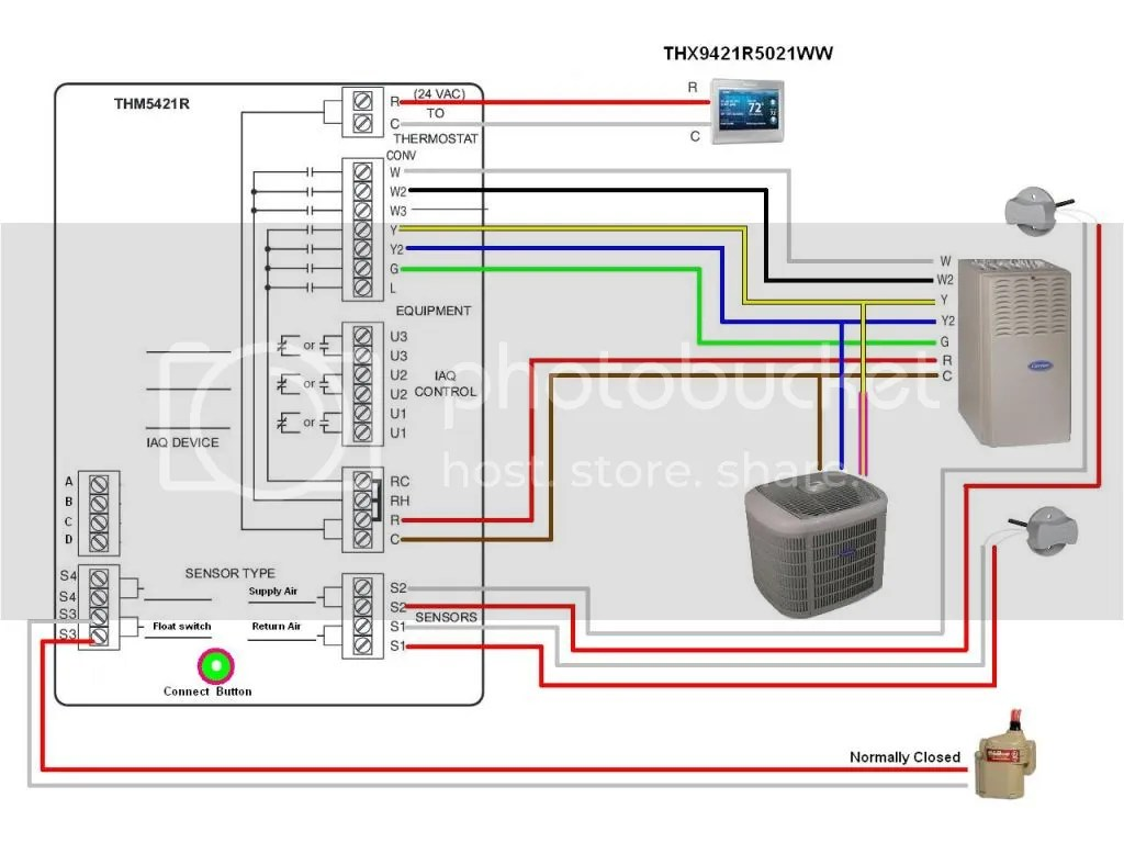 hight resolution of how to upgrade honeywell th921c1004 to wifi thermostat doityourself com community forums