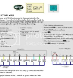 hunter44860diagram upgraded thermostat hvac diy chatroom home improvement forum lennox furnace 24 volt relay wiring diagram [ 1024 x 784 Pixel ]