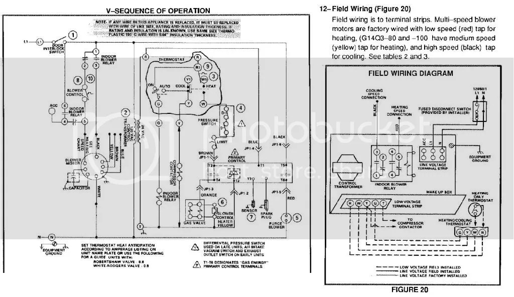 wiring diagram motor faucet stem lennox g1404 furnance blower foul up doityourself com